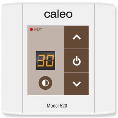 Терморегулятор Caleo 520 (цифровой, накладной)