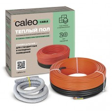 Теплый пол под плитку, в стяжку Caleo Cable 18W-10 (0,18кВт/0,9-1,4м2)