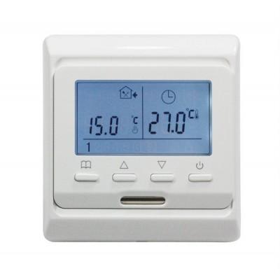 Терморегулятор E 51 (Программируемый, кнопочный, встраиваемый)