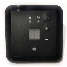 Терморегулятор Эрголайт ТР 09 Черный (встраиваемый, цифровой), 3,5кВт