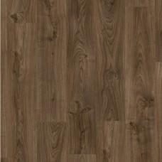 Виниловый ламинат (ПВХ плитка) Quick Step (Квик Степ) Livyn Balance Click Дуб Коттедж Темно-Коричневый