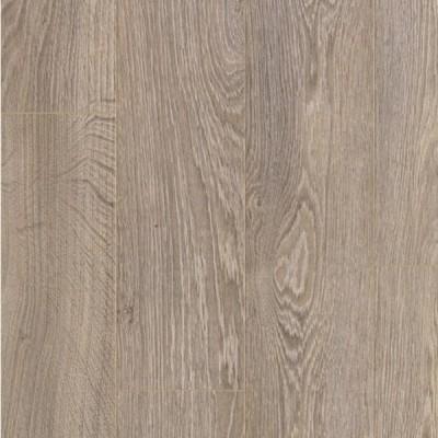 Виниловый ламинат (ПВХ плитка) Quick Step (Квик Степ) Livyn Balance Click Жемчужный серо-коричневый дуб