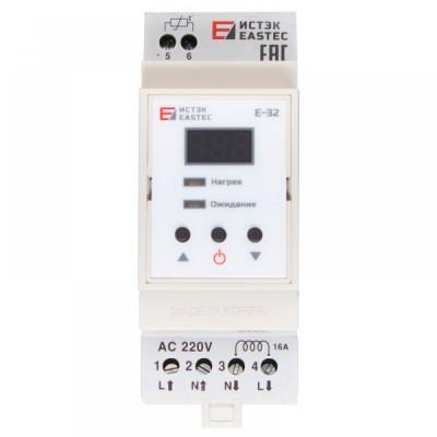 Терморегулятор EASTEC E -32 DIN (На DIN рейку. 3,5 кВт)