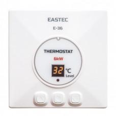 Терморегулятор EASTEC Е-36 (накладной, кнопочный), 6 кВт